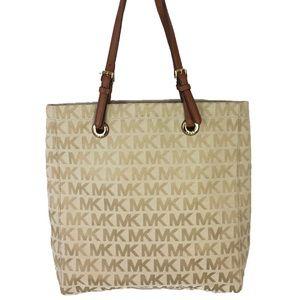 Michael Kors MK Signature Jacquard Monogram Bag
